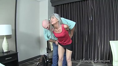 Secretary Punished TRAILER - Rope Bondage