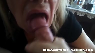 My aunt loves my cock. Amateur older